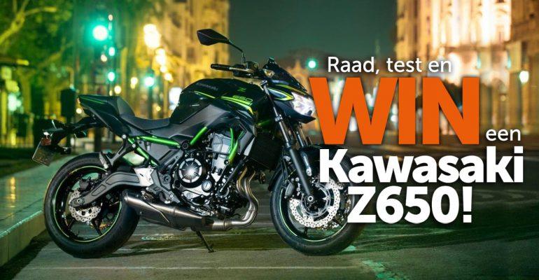 Raad, test en win een Kawasaki Z650!