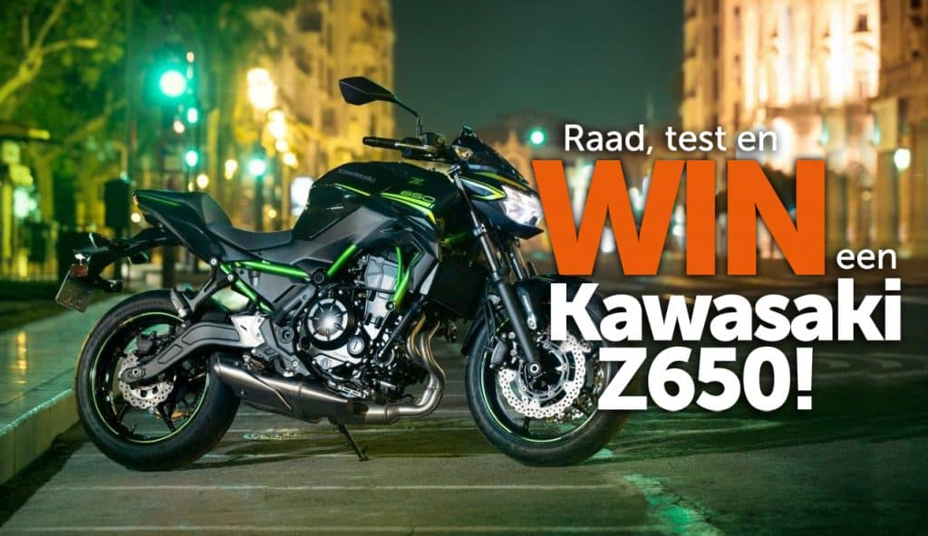 Winactie Kawasaki Z650