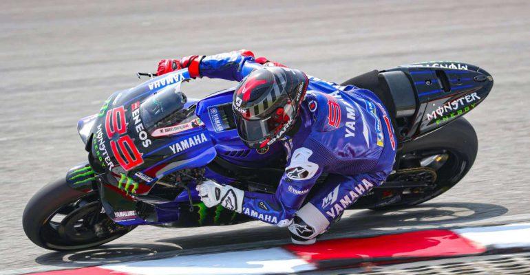 Jorge Lorenzo: 'Ik rij op de Yamaha M1 sneller dan op de Honda.'