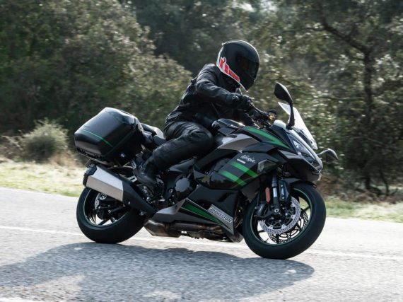 Landelijke Kawasaki Ninja 1000SX introductie