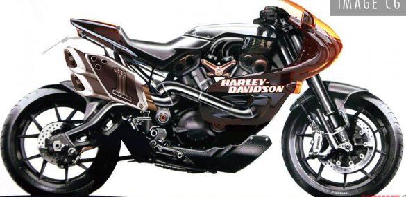 Ziet Harley-Davidson sportfiets er zo uit?