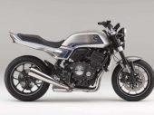 Honda CB-F Concept: glanzende modern-classic