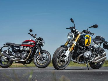 Dubbeltest: Triumph Speed Twin – BMW R nineT Option 719