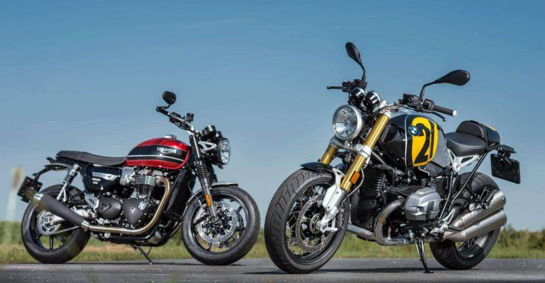 Dubbeltest: Triumph Speed Twin – BMW R nineT Option 719