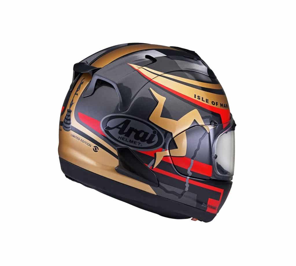 Arai RX-7V Isle of Man TT Limited Edition