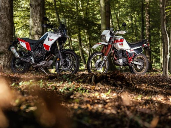 Oud & Nieuw: Yamaha XT600Z Ténéré vs Yamaha Ténéré 700