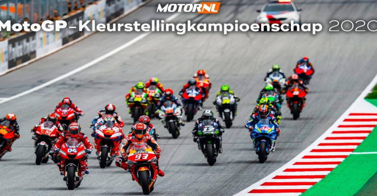 MotorNL MotoGP-Kleurstellingkampioenschap 2020