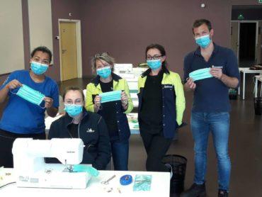 Michelin: 'Wekelijks 400.000 mondkapjes maken in coronastrijd'