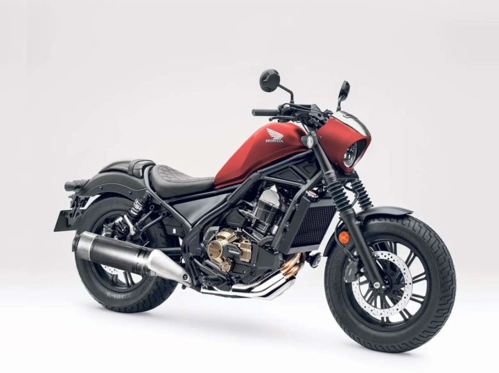 Is een Honda Rebel 1100 aanstaande?