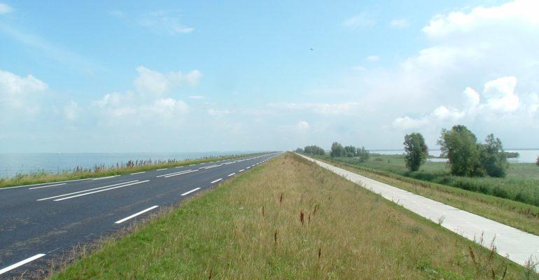 Dijkweg Hoorn/Enkhuizen dit weekend afgesloten