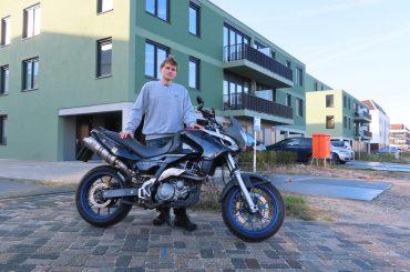 Mijn motoroccasion: Aprilia Pegaso 650 Strada