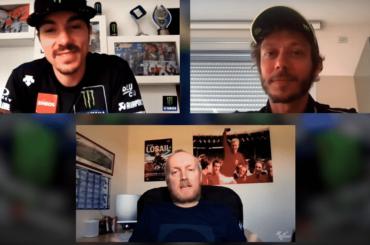 Zondagmorgenfilm: Interview Rossi en Viñales