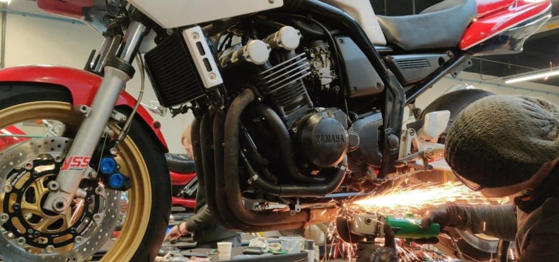 Yamaha Fazer tot Racer