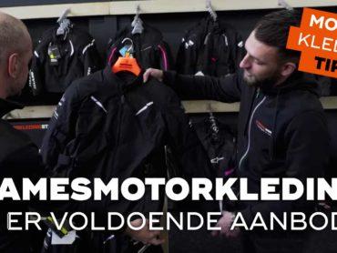 Motorkledingtips voor vrouwen, airbagpakken en regenkleding