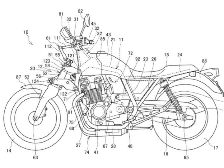 Krijgen meer Honda's de veringset-up van de Gold Wing?