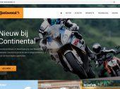 Nieuwe website Continental