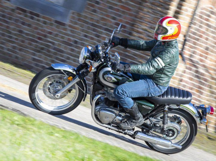 Kawasaki W800 – Eerste test