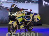 Chinese motorpolitie op CFMoto CF1250J