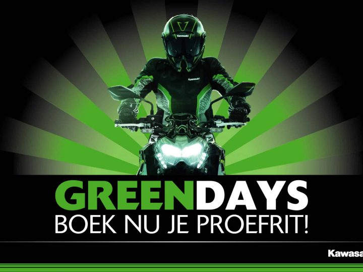 Kawasaki Green Days 2020 van start
