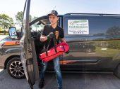 Pizza bezorgen met Moto2 coureur Bo Bendsneyder