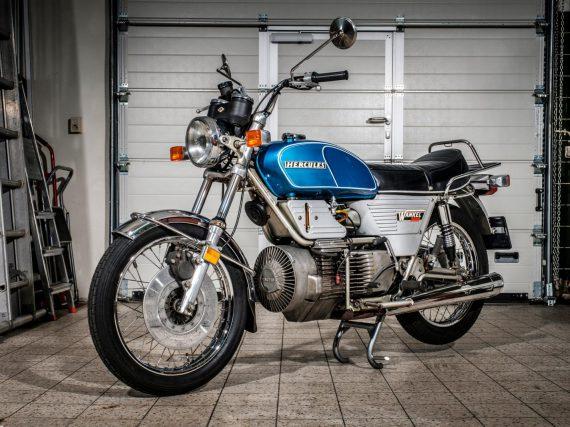 Het debuut van de wankelmotor: Hercules W-2000 (1974-1976)
