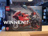 Winnen: Ducati Panigale V4 R van LEGO Technic UPDATE