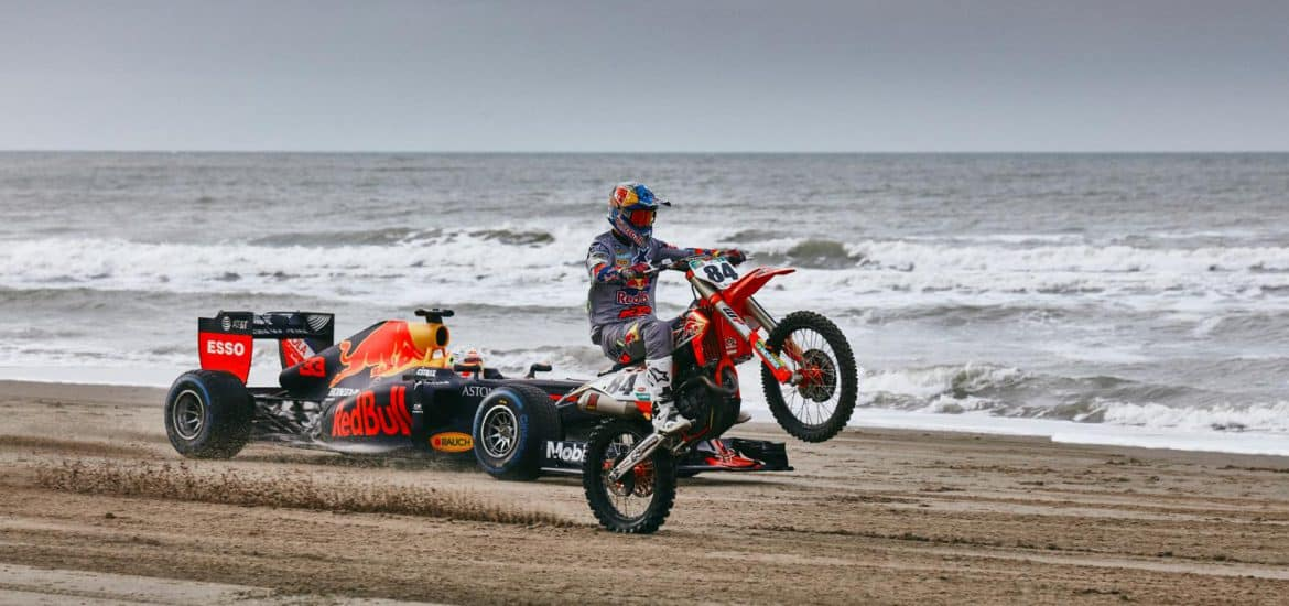 Maxx Verstappen en Jeffrey Herlings