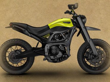 Is dit de toekomstige Ducati Scrambler?