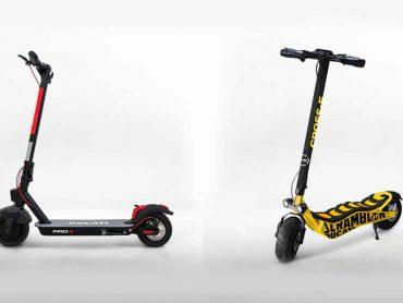 Ducati komt met elektrische steps en vouwfietsen