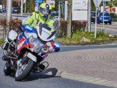 Motordief gooit bloempot naar agenten