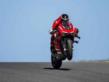 Ducati Superleggera V4 Test – vooruitblik