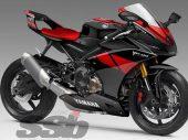 Yamaha: YZF-R9 met triple MT-09 blok?