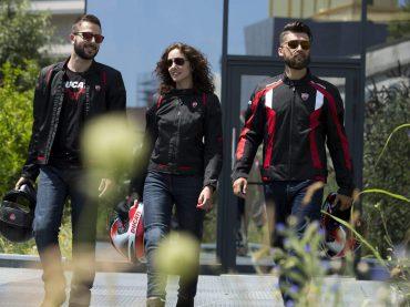 Ducati: de nieuwe geventileerde jassen voor een warme zomer