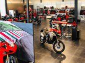 Nieuwe showroom Ducati Amsterdam geopend