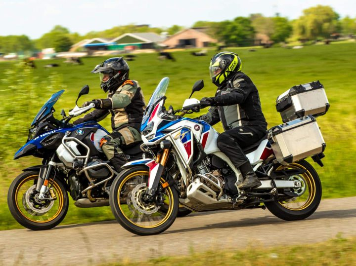 Dubbeltest: BMW R 1250 GS Adventure vs. Honda Africa Twin Adventure Sports