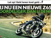 Rij nu een nieuwe Kawasaki Z650 voor €99,- per maand