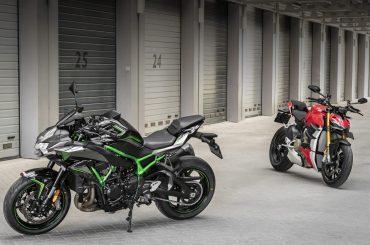 Dubbeltest: Ducati Streetfighter V4 S vs. Kawasaki Z H2