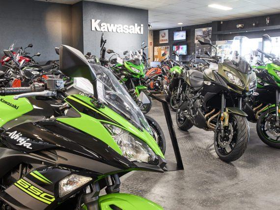 Inhaalslag voor registraties nieuwe motorfietsen