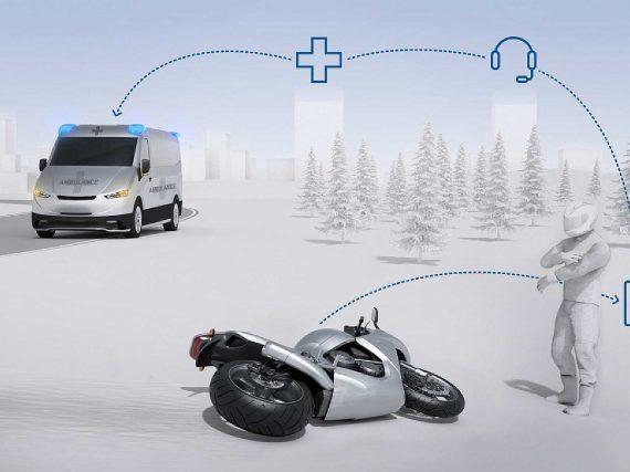Bosch onthult CRASH-detectietechnologie voor motorfietsen