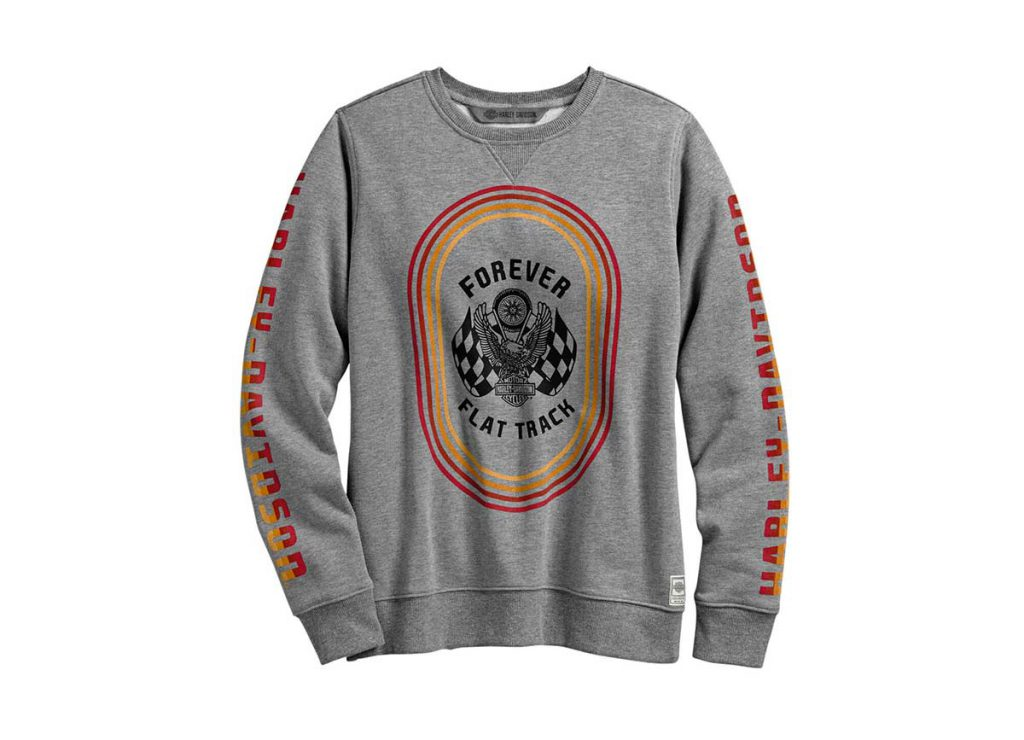 Harley-Davidson Forever Flat Track Pullover Sweatshirt
