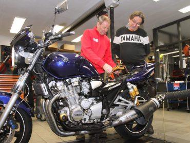 Marathonmotor: Yamaha XJR1300