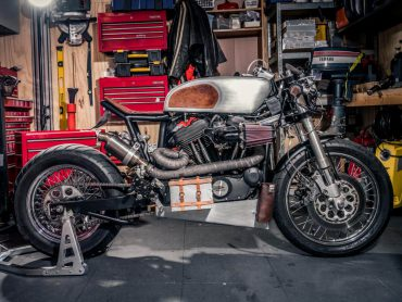 Harley-Davidson Sportster XL1000 1975 – De Transformatie
