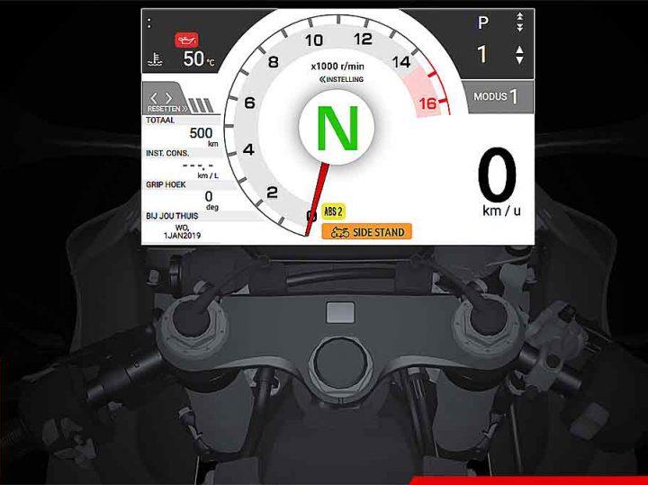Gas geven op een Honda CBR1000RR-R terwijl je er geen hebt