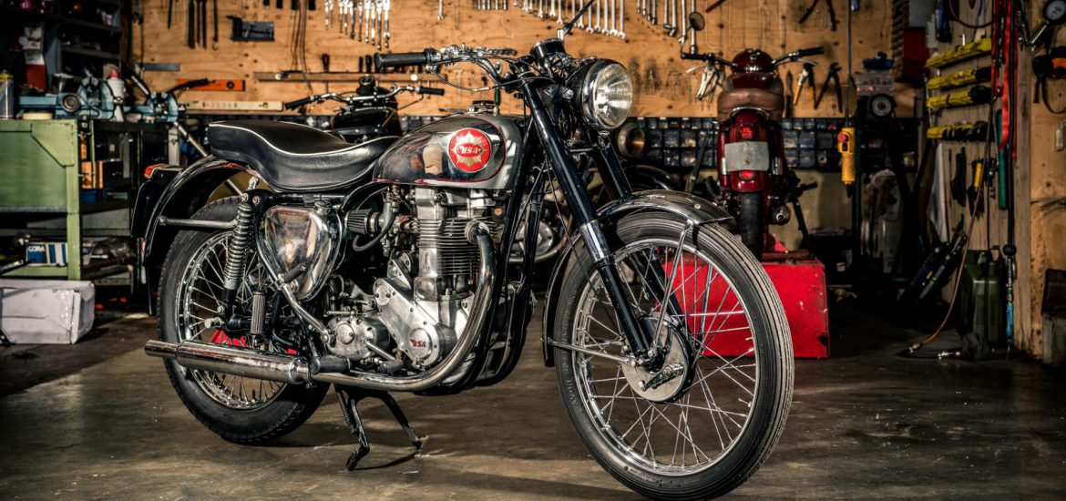 BSA Gold Star BB34 GS