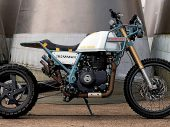 Royal Enfield propt turbo-charged blok in een Himalayan!