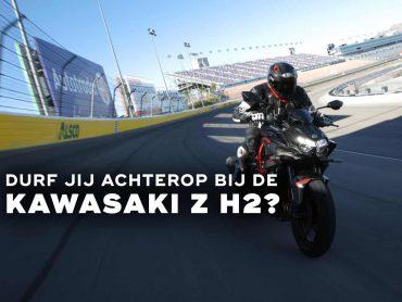 Achterop bij Nigel Walraven op de Kawasaki Z H2; wie durft?