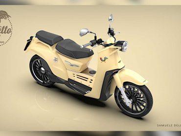 De Moto Guzzi Galletto is een geweldig hybride concept