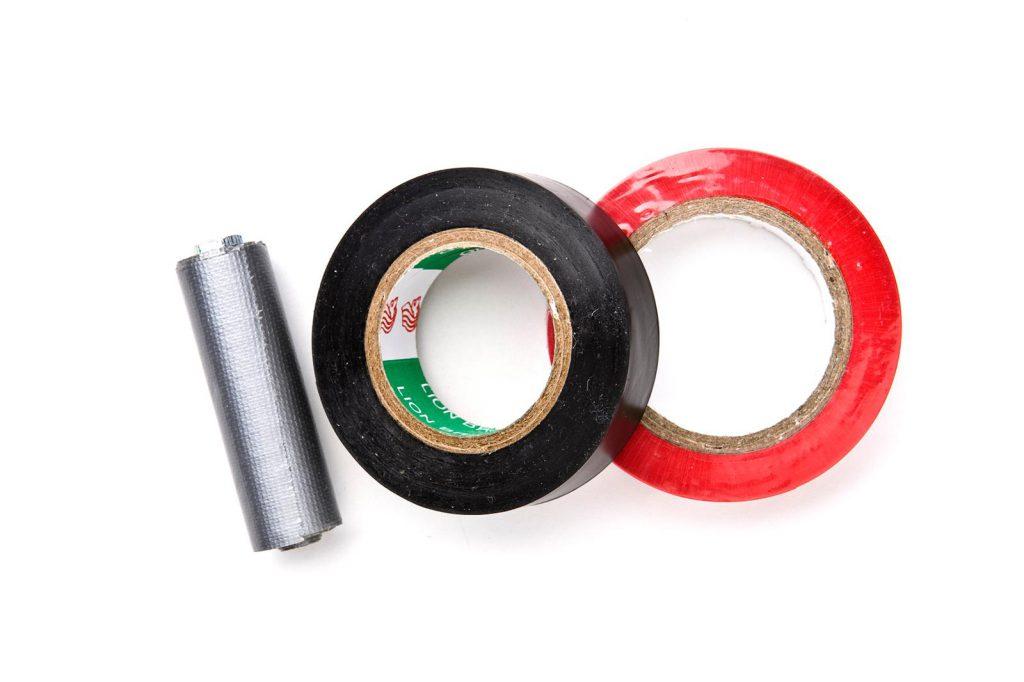 Rolletjes tape