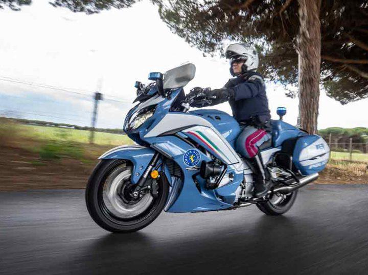 Yamaha FJR1300AE: de nieuwe nationale politiemotor van Italië