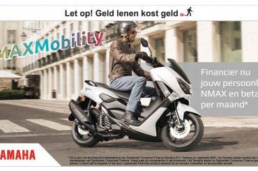 Yamaha rijden vanaf €39,95 per maand